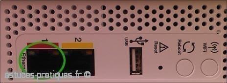 connecter son ordinateur a la livebox mini 1