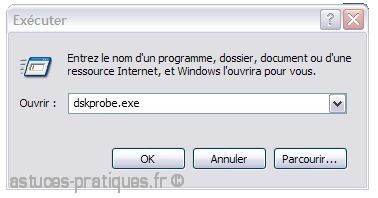 dskprobe.exe pour windows 7
