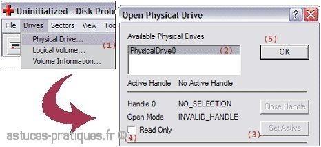 convertir un disque dynamique vers base avec dskprobe 2
