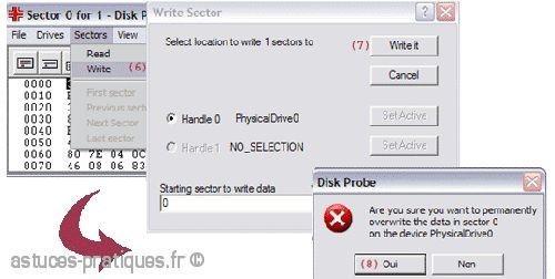 convertir un disque dynamique vers base avec dskprobe 4