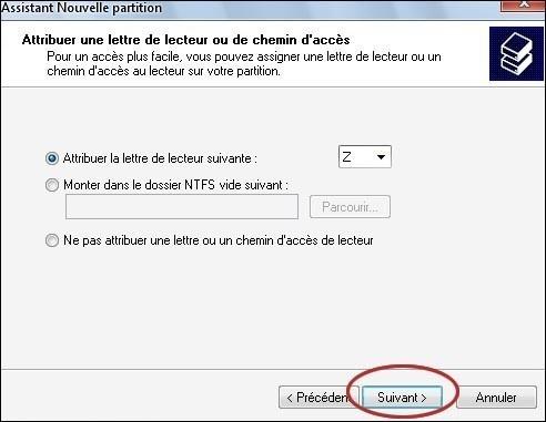 convertir une partition disque gpt en ntfs 6