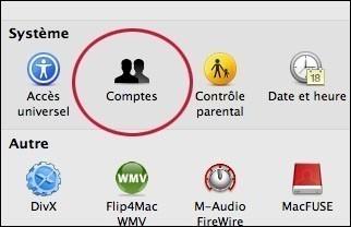 creer ou supprimer un compte utilisateur sur mac osx 1