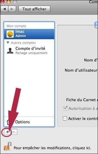 creer ou supprimer un compte utilisateur sur mac osx 4