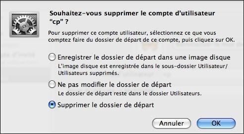 creer ou supprimer un compte utilisateur sur mac osx 7
