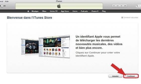 creer un compte iTunes sans carte bancaire 3