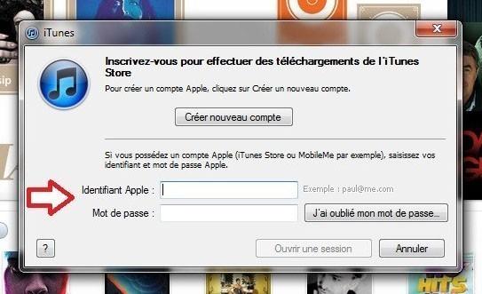 creer un compte iTunes sans carte bancaire 9