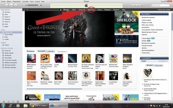 creer un compte iTunes sans carte bancaire 0