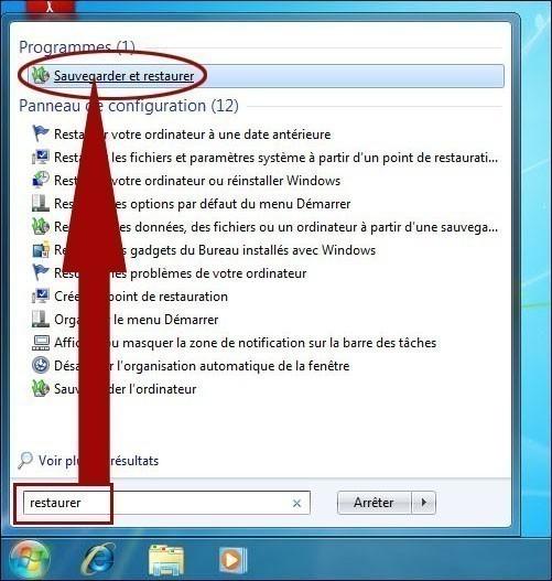créer une image systeme de windows 7