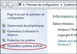 desactiver la memoire virtuelle pour optimiser windows 7 1