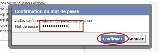 desactiver un compte facebook 4