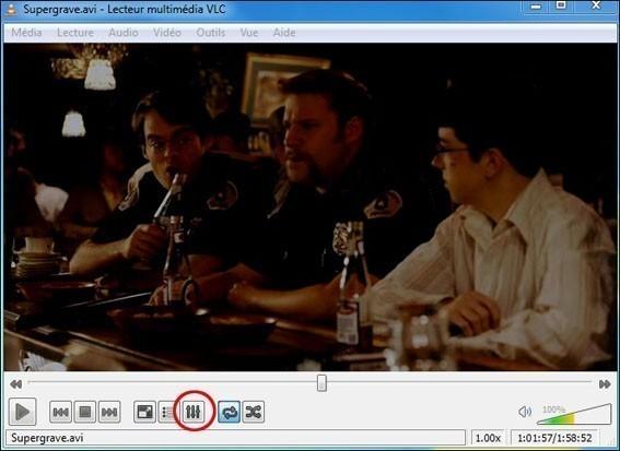 Eclaircir une vidéo trop sombre sur VLC