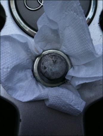 enlever un boulon antivol en etoile abime foire 1