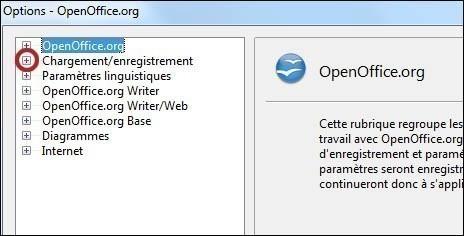 enregistrer par defaut au format doc sur openoffice 2
