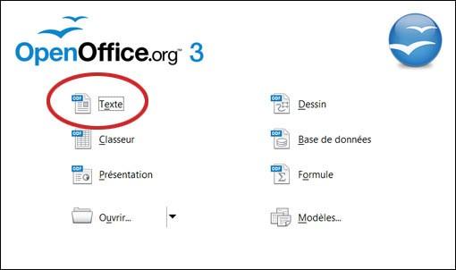 enregistrer par défaut au format doc sur openoffice