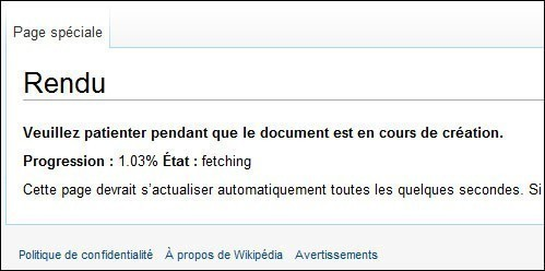 enregistrer un article wikipedia en pdf 1