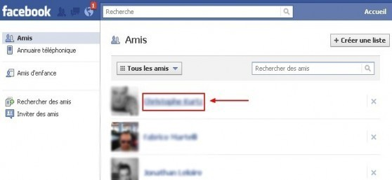 envoyer un message prive a un ami sur facebook 2