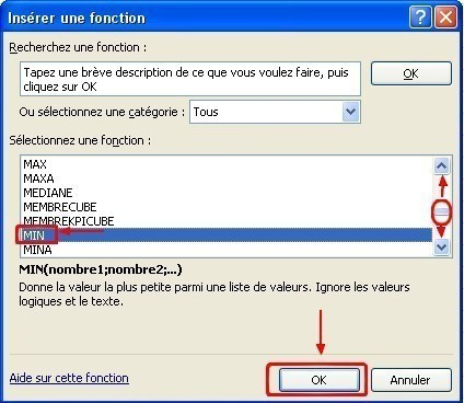 excel formules moyenne max min 17