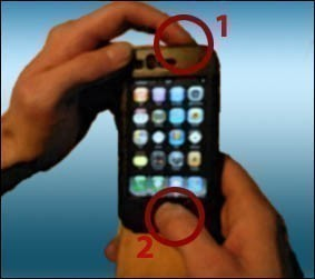 faire une capture ecran sur iphone 0