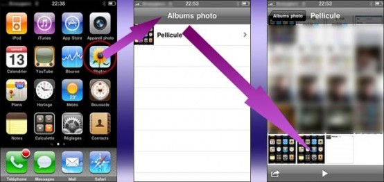 faire une capture ecran sur iphone 1