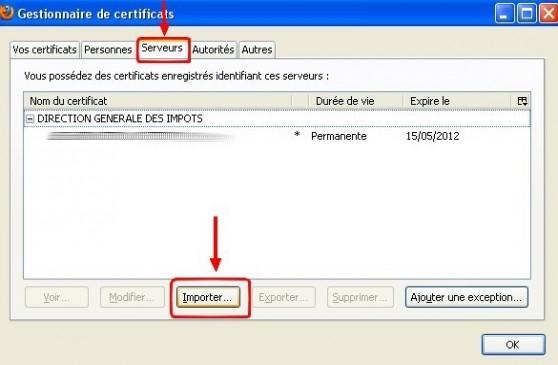firefox ajouter un certificat web 2