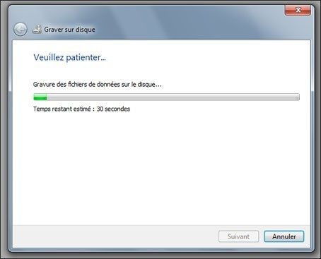 graver un cd audio avec windows seven 7