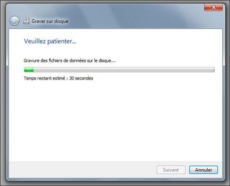 graver un cd audio avec windows seven 7
