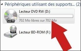 Graver un cd audio avec windows seven