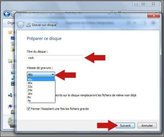graver un cd mp3 avec windows 7 5
