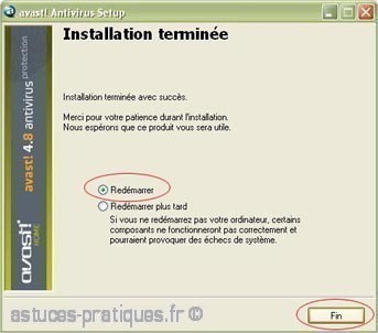installation de l ancienne version avast antivirus 7