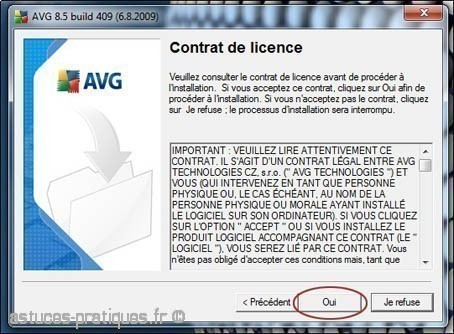 installation de l antivirus avg 1