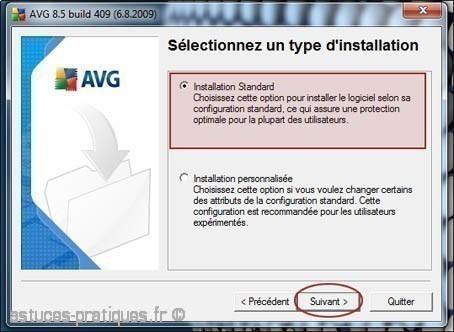installation de l antivirus avg 2