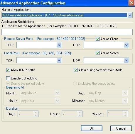 installation et configuration de sygate personal firewall 11