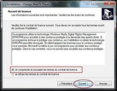 installer et regarder la web tv d orange 3