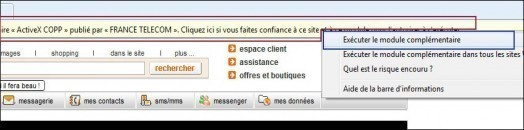 installer et regarder la web tv d orange 4