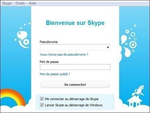 installer et utiliser skype 1