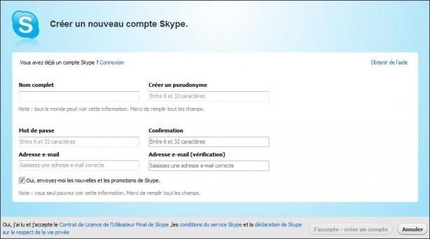 installer et utiliser skype 2