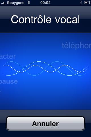 la commande vocale sur l iphone 1