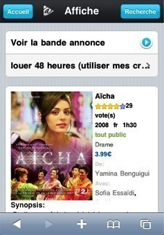 la vod en streaming sur iphone 0
