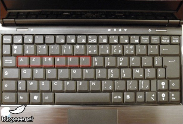 le clavier 0