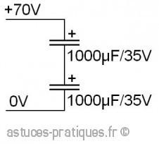 le condensateur association en serie et parallele 1