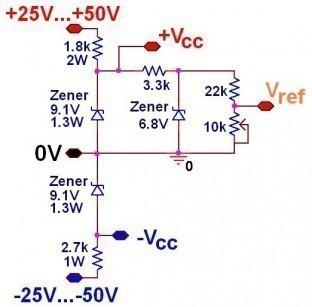 limiteur de puissance audio schema simple 8