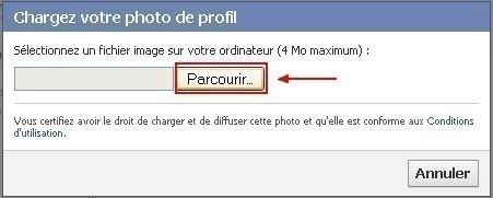 mettre une photo de profil sur facebook 2