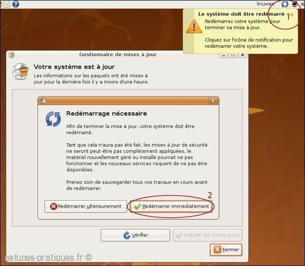 mise a jour logiciel de linux ubuntu 2
