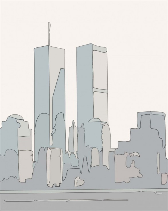 modele de marqueterie new york marquetry pattern new york wtc 0