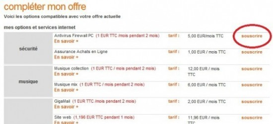 modifier sa formule et options sur orange fr 3