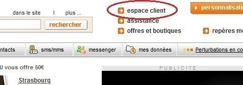 modifier sa formule et options sur orange.fr