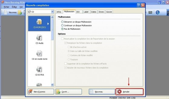 nero convertir un cd de musique en mp3 1