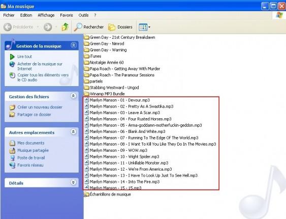 nero convertir un cd de musique en mp3 12
