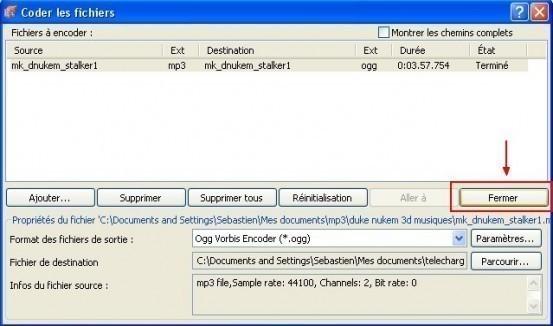 nero convertir un fichier audio 8