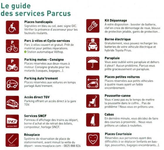 parkings et stationnements payants sur strasbourg 2
